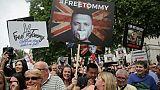 Royaume-Uni: un militant d'extrême droite érigé en martyr par des partisans de Trump