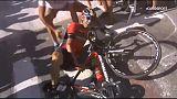 Tour, nuovo video sulla caduta di Nibali