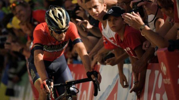 Tour de France: Nibali victime de l'Alpe d'Huez