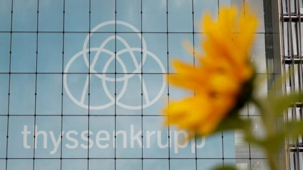 Merkel says ThyssenKrupp structure is a commercial matter