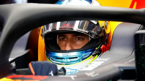 Ricciardo fastest in first German GP practice