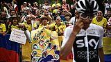 Tour de France: le peloton quitte les Alpes pour la 13e étape vers Valence