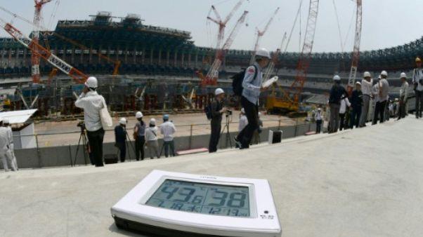 JO-2020: 37 degrés à l'ombre à Tokyo, les organisateurs gardent la tête froide
