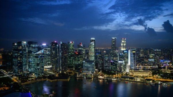 Vue générale de Singapour, le 13 juin 2018