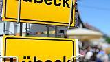 Man arrested after knife attack on German bus