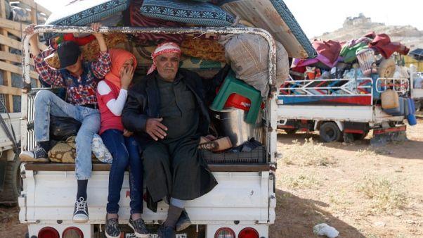 روسيا ترسل مقترحات بشأن اللاجئين السوريين لواشنطن بعد قمة هلسنكي