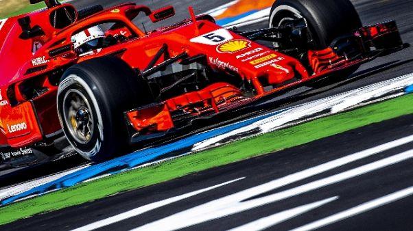 F1:Germania,Vettel,credo sia andata bene