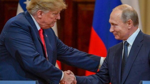 """Poutine et Trump ont discuté de propositions """"concrètes"""" pour l'est de l'Ukraine"""