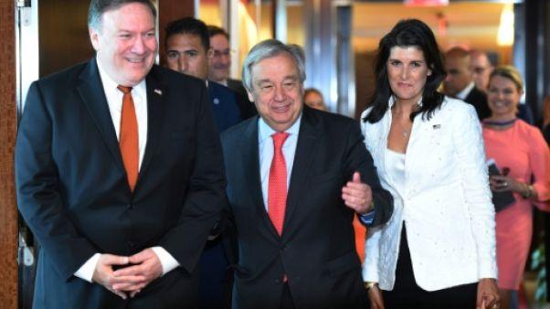 Washington fait pression à l'ONU pour maintenir l'unité face à Pyongyang