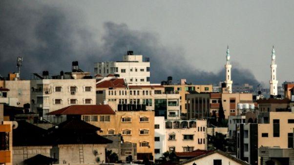 Gaza:  bombardements israéliens massifs, trois palestiniens tués