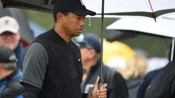 British Open: Tiger Woods dans le par et modérément satisfait