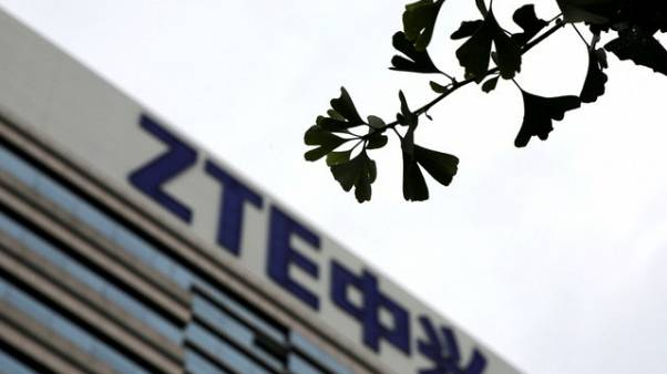 U.S. lawmakers cut anti-ZTE measure from must-pass bill - source