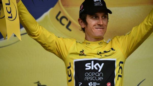 """Tour de France: """"On fait tout de manière correcte"""", dit Geraint Thomas"""