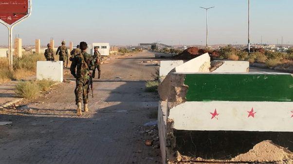 (مقابلة)وزير: لبنان يجب أن يبرم اتفاقا مع سوريا لاستخدام معبر نصيب للتصدير