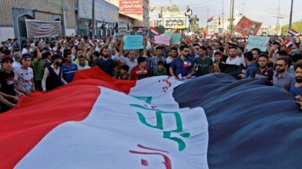 En Irak, un nouveau mort dans la contestation qui gagne Bagdad