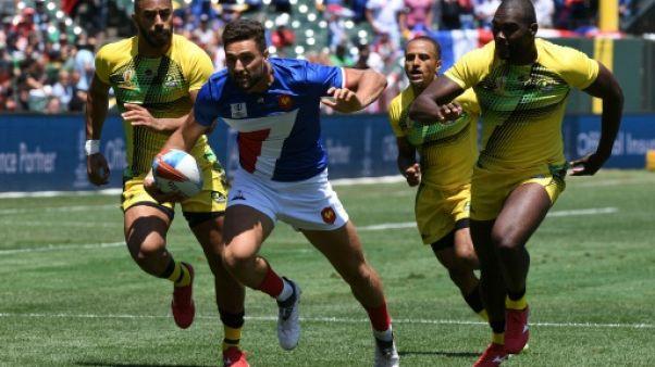 Coupe du monde de rugby à VII: promenade de santé pour les Français au 1er tour