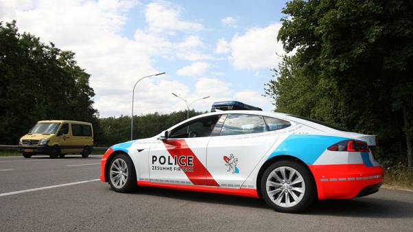Luxembourg police deploy Tesla cars to help nab criminals