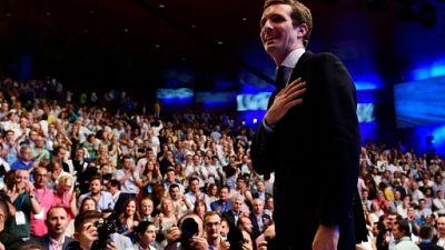Espagne: après la chute de Rajoy, la droite élit Pablo Casado comme nouveau chef