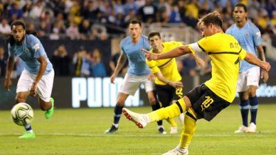 Amical: Dortmund fait tomber Manchester City 1-0