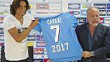 De Laurentiis, Cavani? Per gol c'è Milik