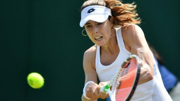 Tennis: Cornet bat Bouchard et rejoint Minella en finale à Gstaad
