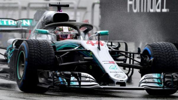 GP d'Allemagne: problème hydraulique pour Hamilton (Mercedes) en qualifications