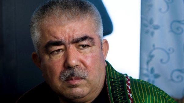 نائب الرئيس الأفغاني يعود من المنفى يوم الأحد