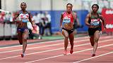 Athletics: New mum Fraser-Pryce back under 11 seconds