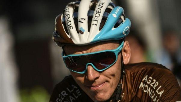 Tour de France: Bardet cède du terrain