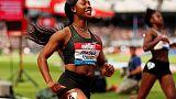 الأم الجديدة فريزر-برايس تعود لتحقق أقل من 11 ثانية في سباق 100 متر