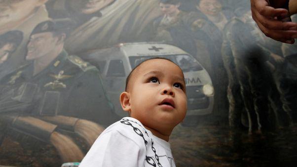 إقبال كبير على تذكارات تصور عملية إنقاذ فتية الكهف في تايلاند