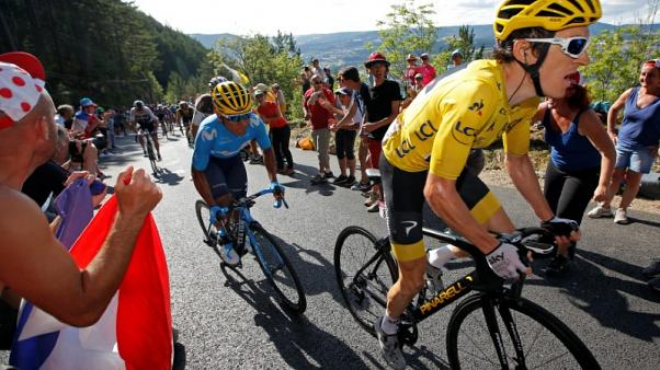 Cycling - Thomas unfazed by yellow jersey pressure on the Tour
