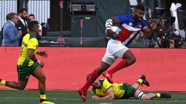 Coupe du monde Rugby à VII: les Français laissent passer leur chance