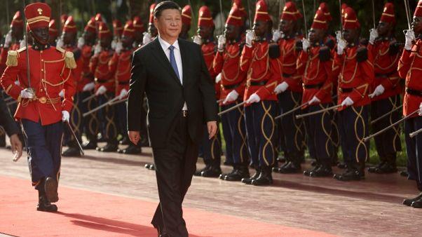 الرئيس الصيني يتعهد في السنغال بتعزيز العلاقات مع أفريقيا
