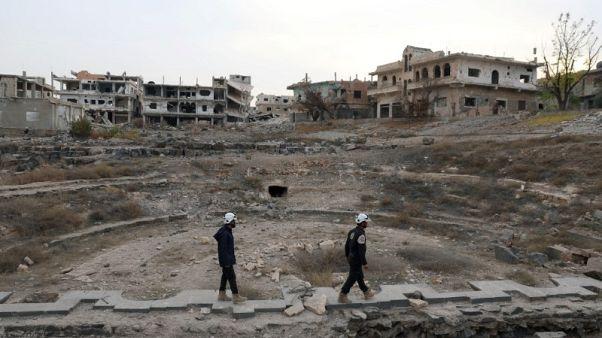 جماعة الخوذ البيضاء السورية تفر للأردن بدعم إسرائيلي وغربي