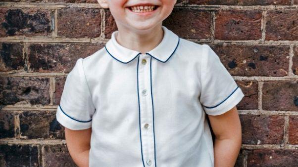 الأمير جورج نجل الأمير وليام البريطاني يحتفل بعيد ميلاده الخامس