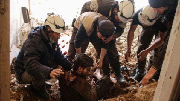 Syrie: les Casques blancs, les secouristes en zones rebelles