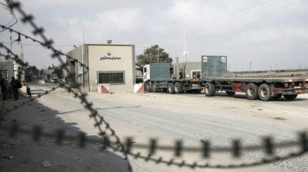 Gaza: Israël va rouvrir mardi un terminal si la situation reste calme