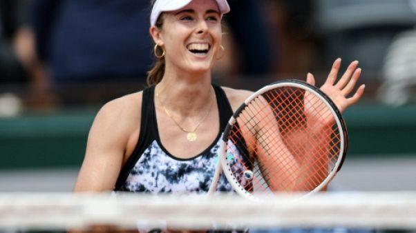 Tennis: Cornet retrouve des couleurs à Gstaad