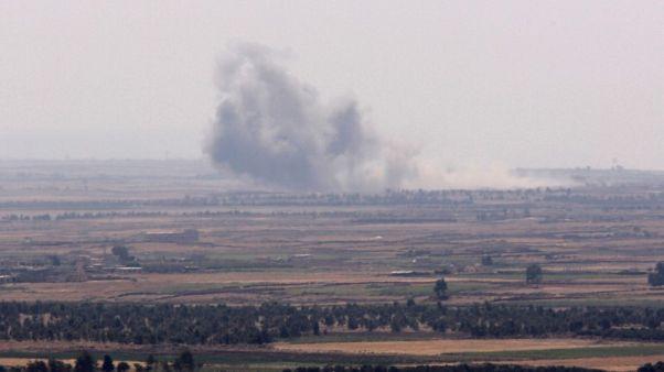 مصادر: ضربات جوية تستهدف الدولة الإسلامية في جنوب سوريا بدعم روسي