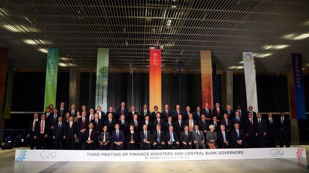 البيان الختامي: مجموعة العشرين تدعو لحوار أكبر بشأن التوترات التجارية