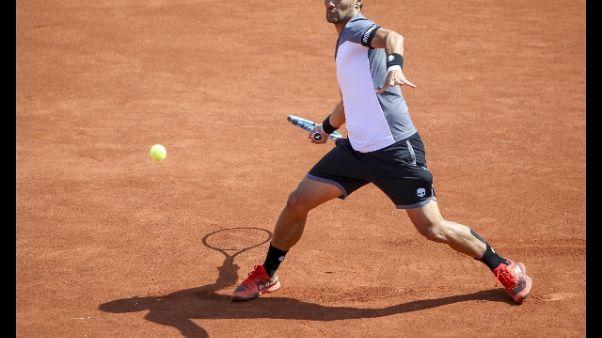 Tennis, Fognini vince torneo Bastad