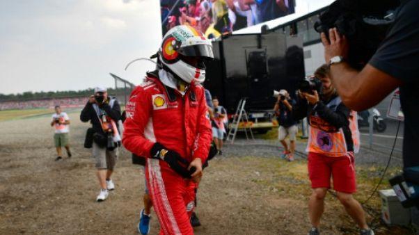 GP d'Allemagne: Vettel (Ferrari) abandonne au 52e tour