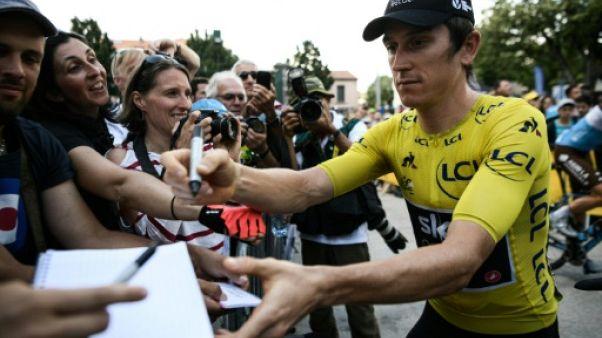 """Tour de France: Thomas regrette des """"sentiments négatifs pas beaux"""""""