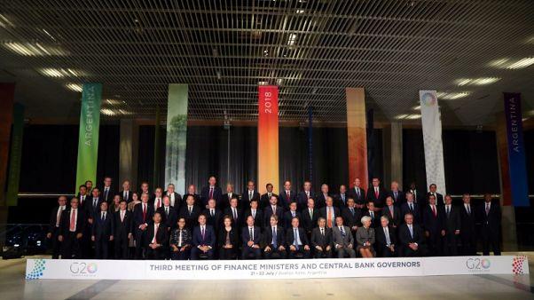 البيان الختامي: وزراء مجموعة العشرين يدعون لحوار أكبر بشأن التوترات التجارية
