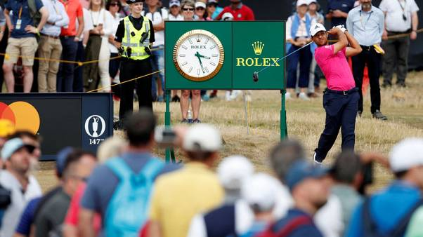 Golf - Schauffele fast emerging as player for big occasion
