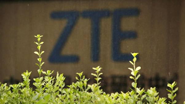 ZTE's HK shares jump 3.8 percent as U.S. lawmakers cut measure from bill