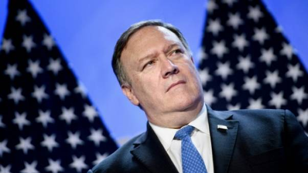Le secrétaire d'Etat américain Mike Pompeo, le 11 juillet 2018 à Bruxelles