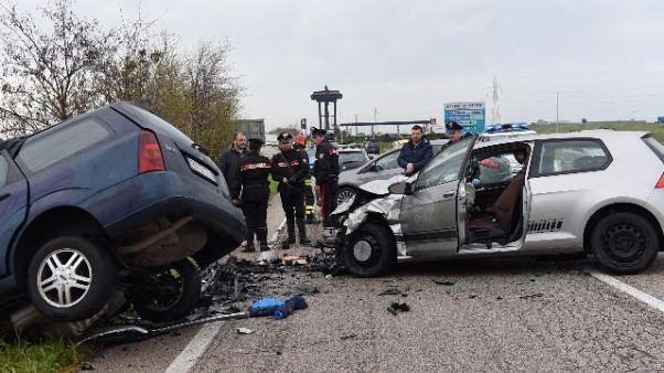 Istat, nel 2017 meno incidenti stradali