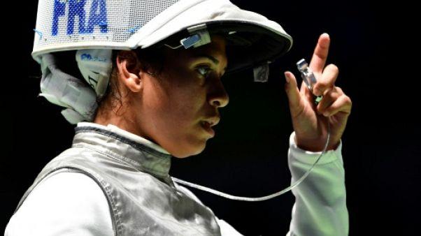 La Française Ysaora Thibus lors des Jeux de Rio, le 10 août 2016